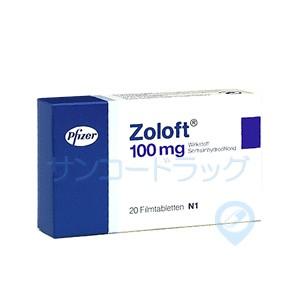 ゾロフト(Daxid)100mg 30錠