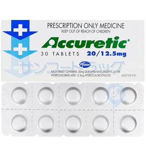 アキュレティック(ACCURETIC)20+12.5mg 30錠