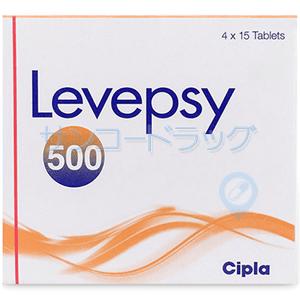 イーケプラジェネリック ( レベプシー ) 500mg 30錠