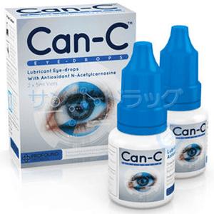CAN-C (白内障治療の目薬)3mg + 1% w/v 5ml 2本