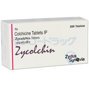 コルヒチン ( ジコルチン ) 0.5mg 30錠